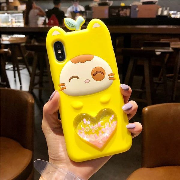 Kitty Phone Case For Iphone6/6s/6p/7/8/7/8plus/X/XS/XR/XSmax