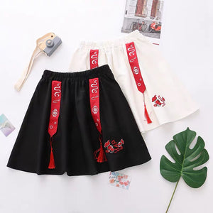 Kawaii Embroidery Skirt