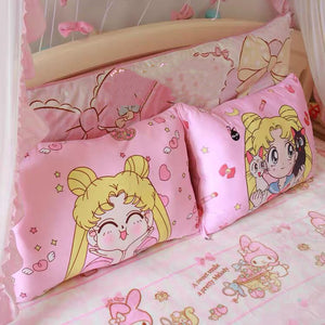 Kawaii Girl Pillow Case