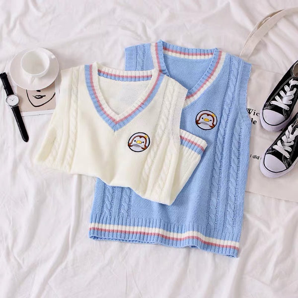 Kawaii Knitted Vest