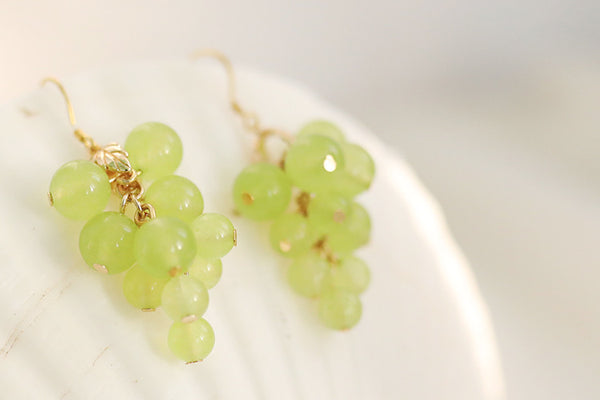 Cute Grapes Earrings