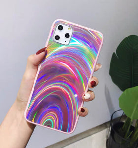 Rainbow Phone Case For Iphone6/6s/6p/7/7plus/8/8plus/X/XS/XR/XSmax/11/11pro/11proMAX