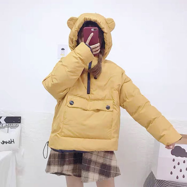 Harajuku Color Winter Coat