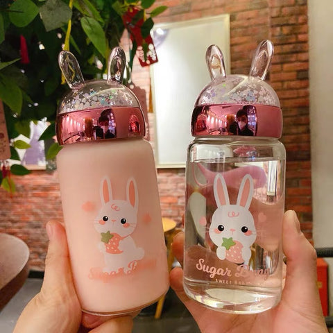 Kawaii Bunny Drinking Bottle