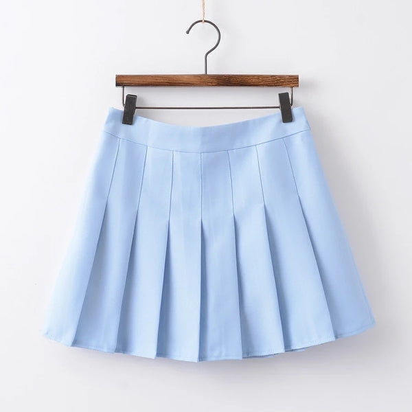 Pure Color Skirt