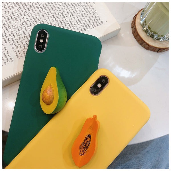 Fruit Phone Case For Iphone6/6s/6p/7/8/7/8plus/X/XS/XR/XSmax
