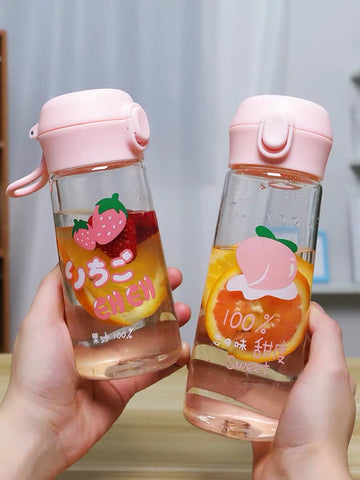 Cute Fruits Water Bottle