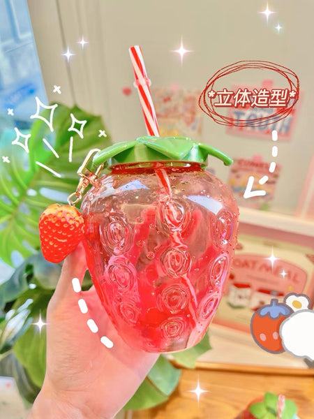 Strawberry  Drinking Bottle
