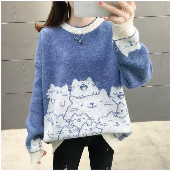Cute Cats Sweater