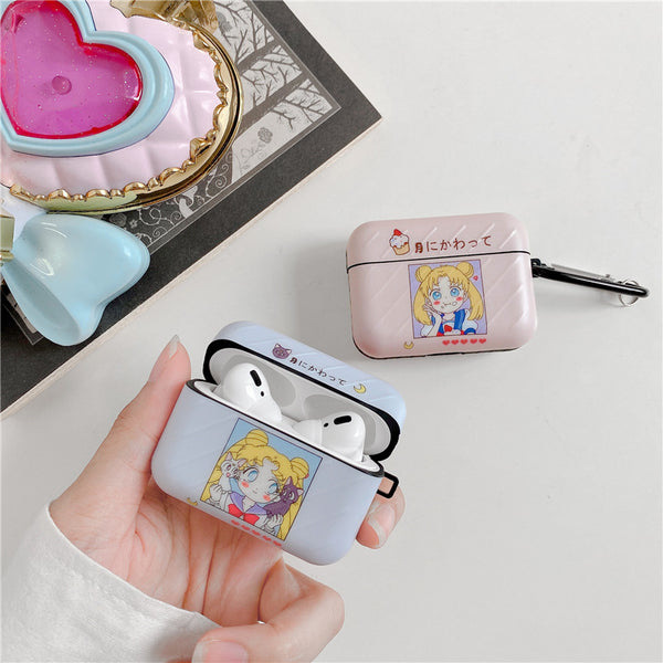 Funny Girl Airpods Protector Case For Iphone