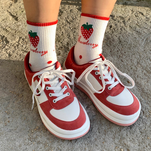 Little Strawberry Shoes