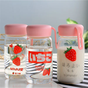 Sweet Strawberry Drinking Bottle