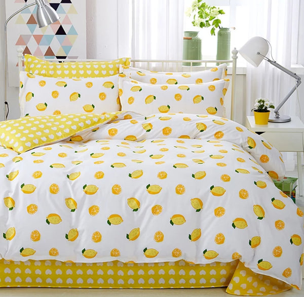 Lemon Bedding Set
