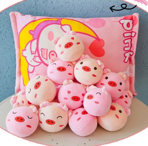 Kawaii Pig Dolls