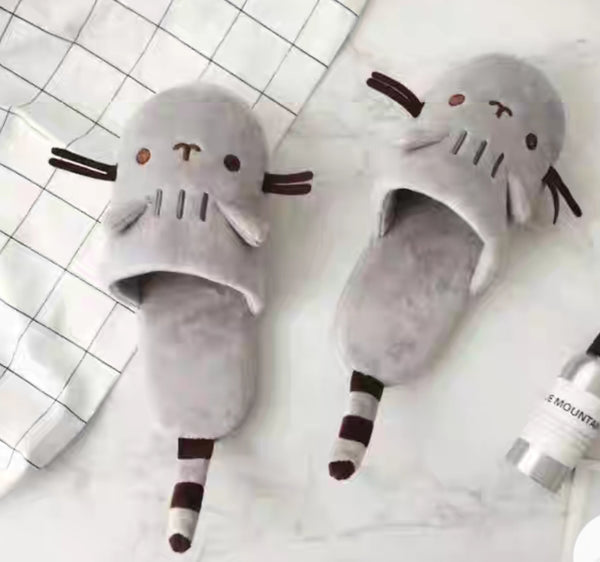 Kawaii Kitty Slippers