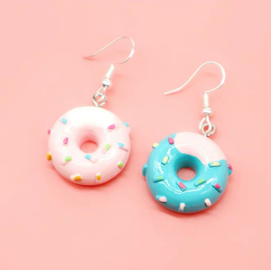 Doughnut Earrings