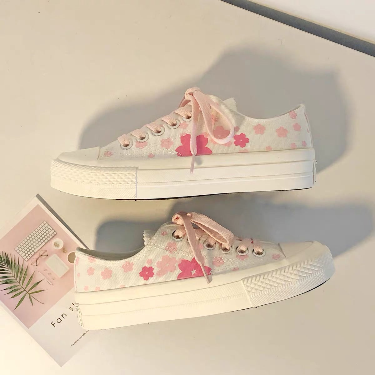 Kawaii Sakura Shoes