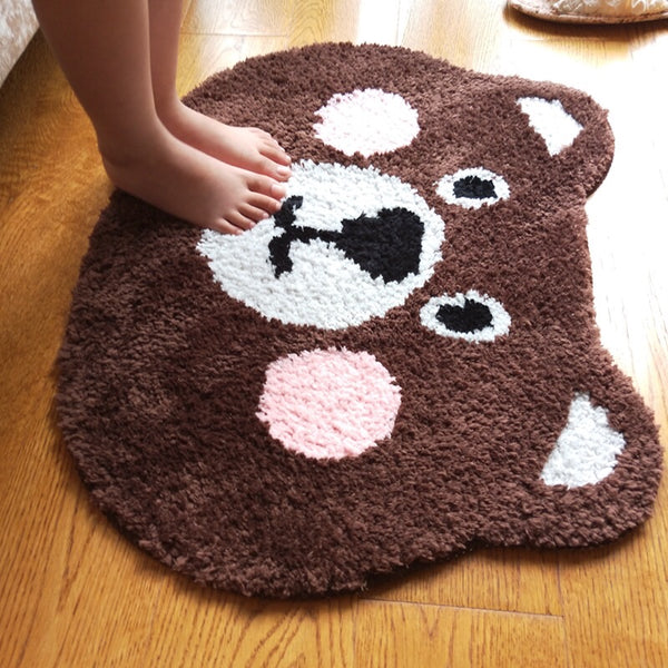 Kawaii Bear Floor Mat