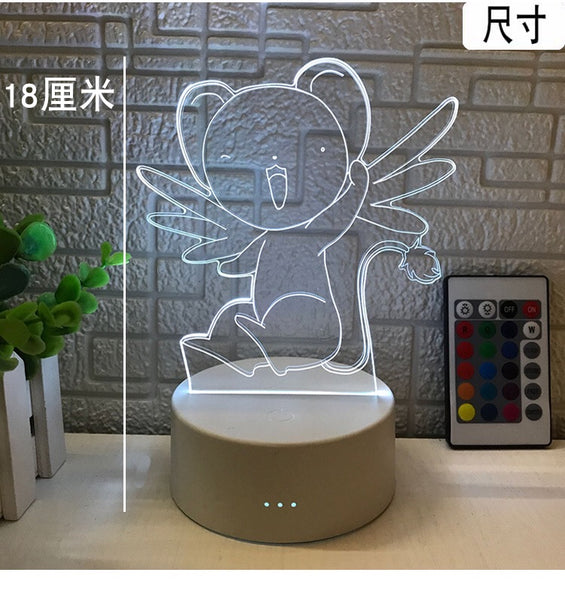 Happy Anime Lamp
