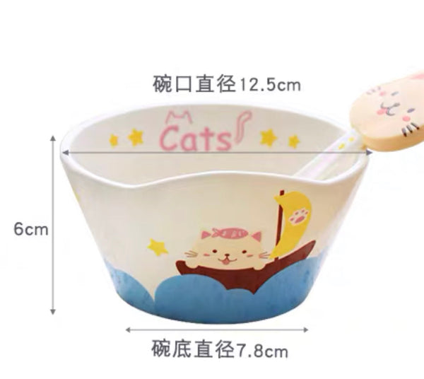 Kawaii Animal Bowl