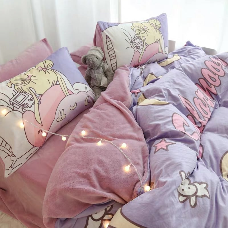 Sailor Moon Bedding Set