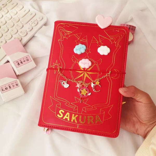 Kawaii Sakura Notebook
