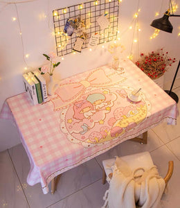 Cute Printed Tablecloth