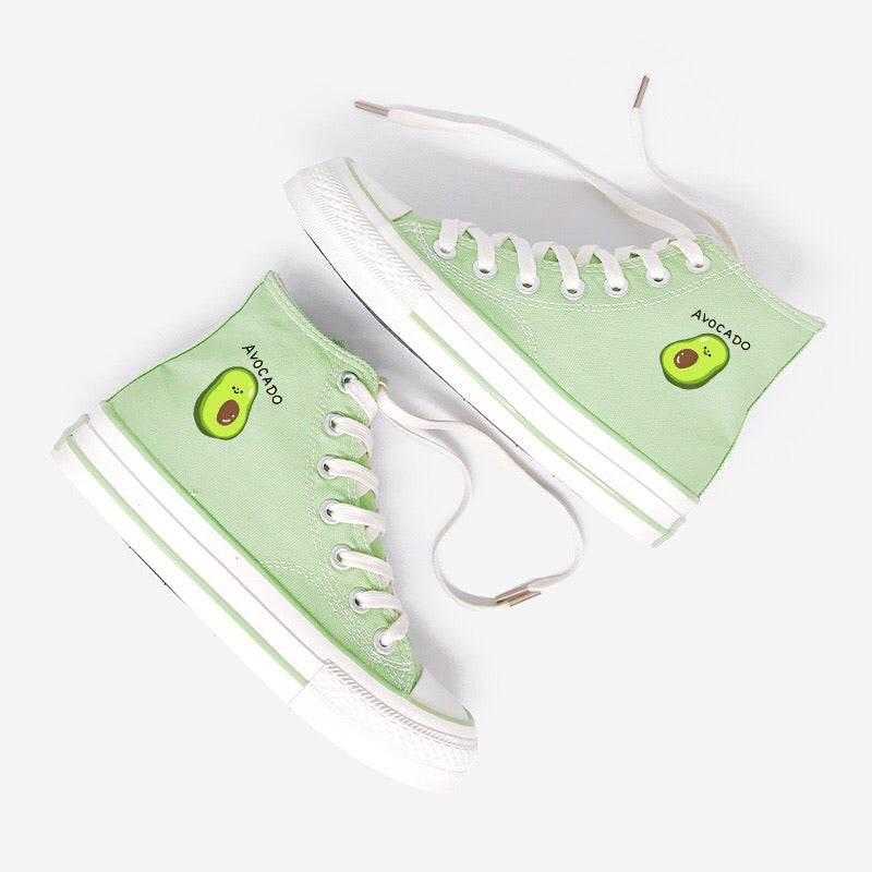 Kawaii Avocado Shoes