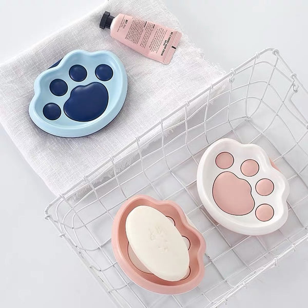 Kawaii Paw Soap Box