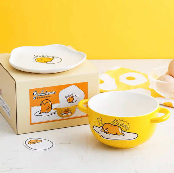 Kawaii Gudetama Bowl