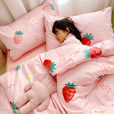 Soft Girl Bedding Set