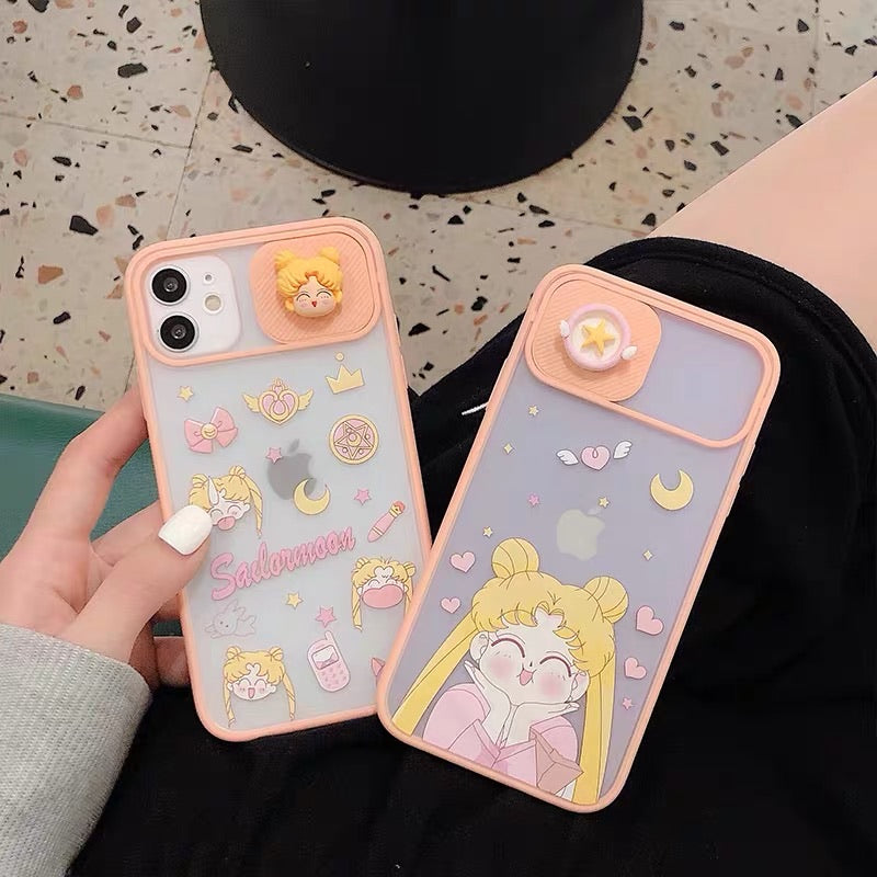 Cute Girl Phone Case For Iphone7/7Plus8/8plus/X/XS/XR/XSMAX/11/11pro/11proMax