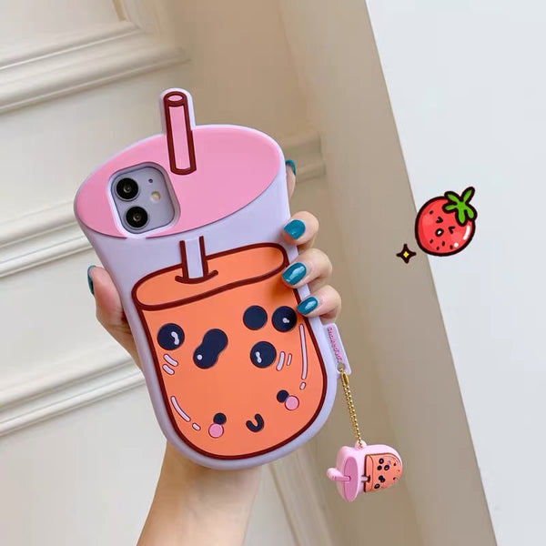 Boba Phone Case For Iphone7/7P/8/8plus/X/XS/XR/XSmax/11/11pro/11pro max/SE