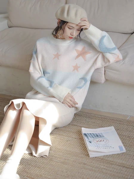 Moon And Star Sweater