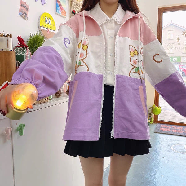 Kawaii Rabbit Coat