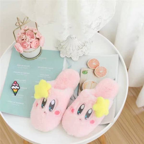 Kawaii Kirby Slippers