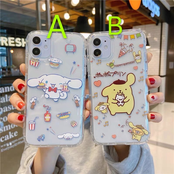 Cartoon Phone Case For Iphone7/7P/8/8plus/X/XS/XR/Xs max/11/11pro/11pro max
