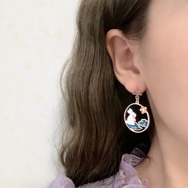 Kawaii Rabbit Earrings