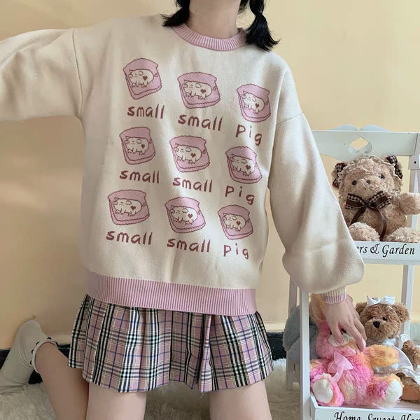 Small Pig Sweater