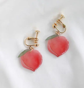 Sweet Peach Earrings