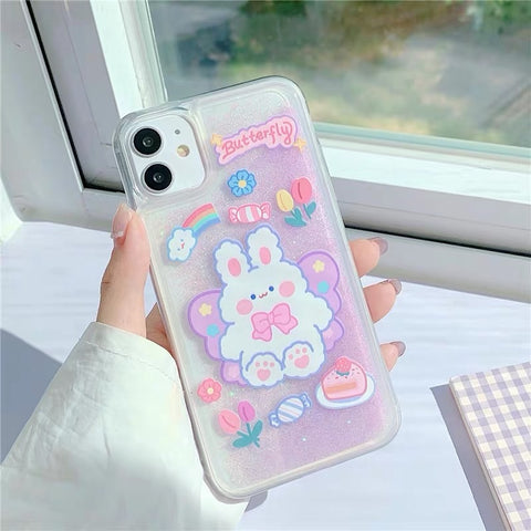 Bunny Phone Case For Iphone7/8/7/8plus/X/XS/XR/XSmax/11/11pro/11proMax