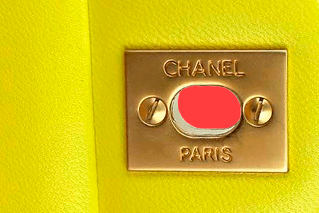 f37ce4ce674508 Stamping marks on Chanel bags vary according to the styles and when the  bags were made. Some CC locks have a stamping mark whereas others don't,  therefore, ...