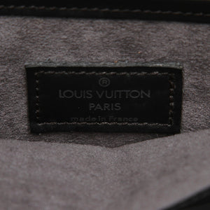 Louis Vuitton Black Epi Demi Lune