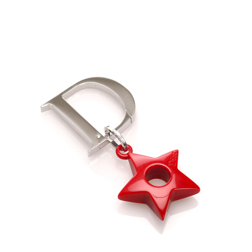 Dior Star Metal Key Holder
