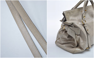 Bow Bag in Grey