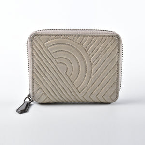 Reed Krakoff Cement Nappa Leather Card Holder
