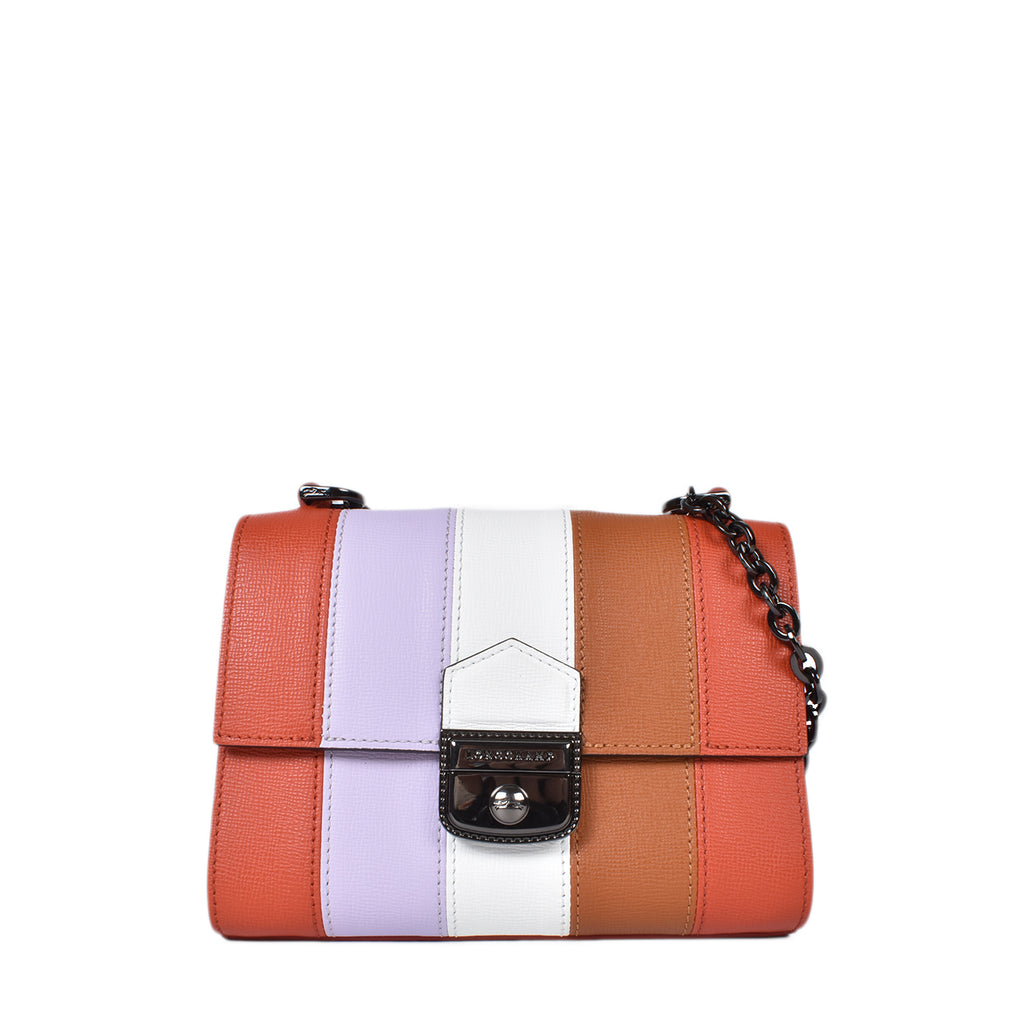 Longchamp Essential Effrontee Sienna Extra Small Multicolor Crossbody Bag