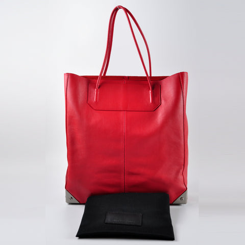 Alexander Wang Cayenne Smooth Leather Prisma Tote Bag - Glampot