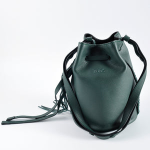 Tod's Piccolo Secchiello Gipsy Bucket Tote in Green