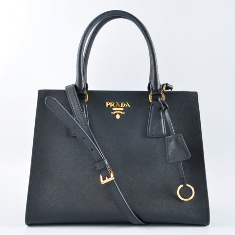 Prada 1BA118 Saffiano in Black